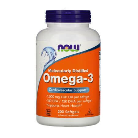 Для любителей Омеги-3. Now Foods Omega-3