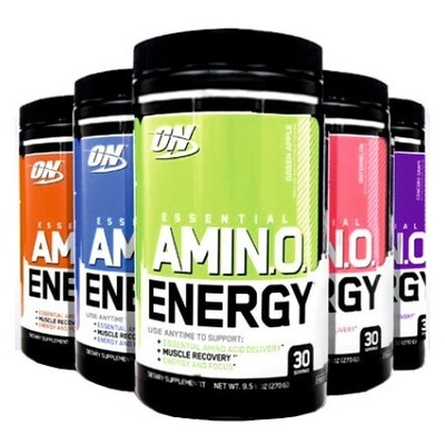 Optimum Nutrition Essential Amino Energy 270 грамм 12 вкусов