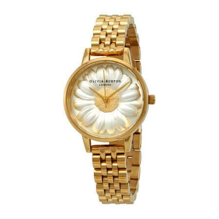 Английские часы Olivia Burton Women's 3D Daisy watch