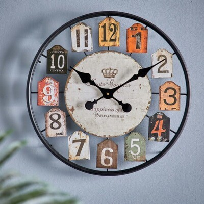 Старинные Круглые Настенные Часы