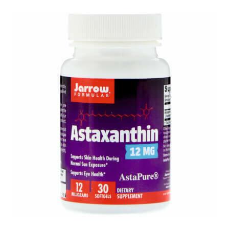 Астаксантин -сильнейший антиоксидант в мире от Jarrow Formulas