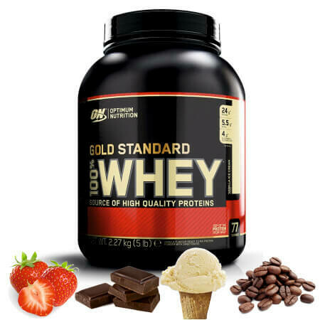Optimum Nutrition Gold Standard 100% Whey (2.27 кг)