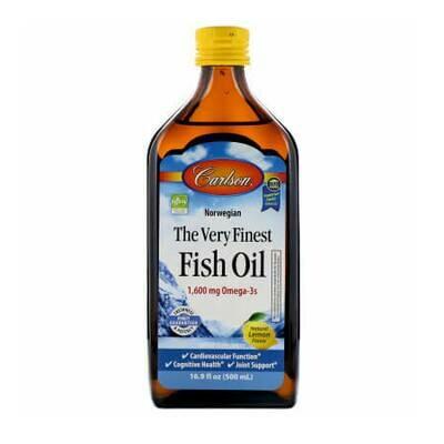 Жидкий рыбий жир высочайшего качества Carlson Labs 1600 мг