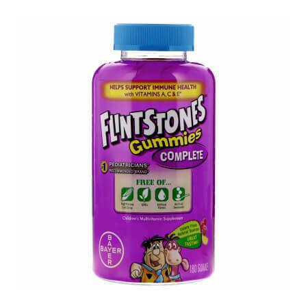 Детский мультивитаминный комплекс Bayer Flintstones Gummies