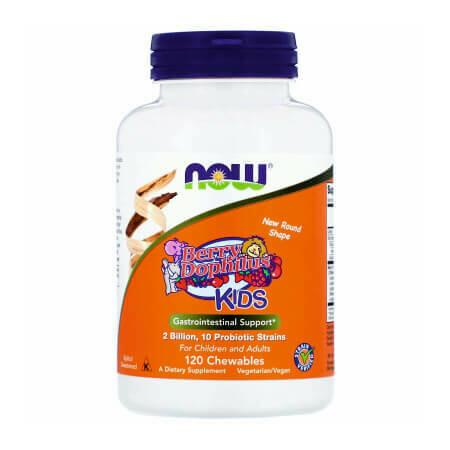 Пробиотик для детей с ягодным вкусом Now Foods-BerryDophilus