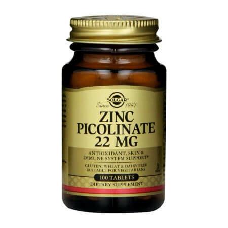 Цинк-микроэлемент красоты и молодости Solgar-Zinc Picolinate