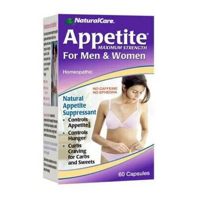 Контроль аппетита для мужчин и женщин NaturalCare Appetite Maximum Strength For Men & Women No Caffeine