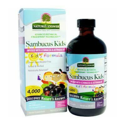 Противовирусное средство для детей Nature's Answer Sambucol Kids