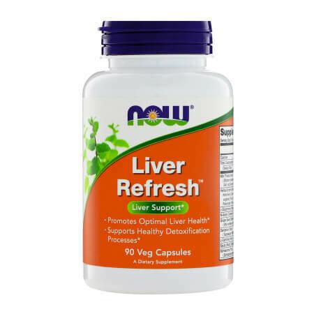 Поддержка печени Now Foods-Liver Refresh