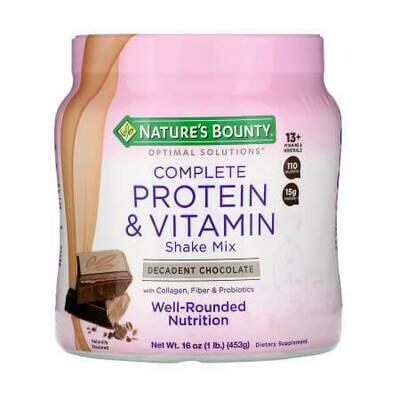 Смесь богатая протеинами и витаминами, изысканный шоколад Nature's Bounty-Optimal Solutions