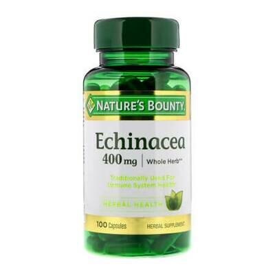 Комплексная терапия гриппа и простуды Nature's Bounty-Echinacea