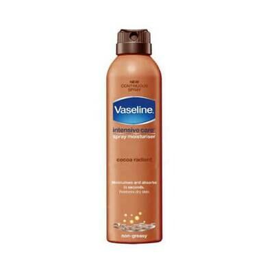 Увлажняющий спрей для тела с маслом какао Vaseline Cocoa Radiant Spray Moisturiser