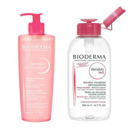 Набор Bioderma 1+1 для чувствительной кожи