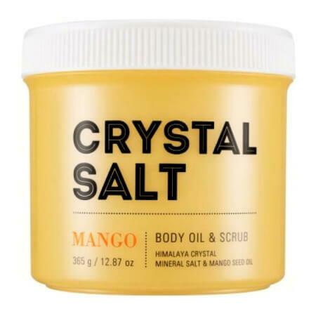 Соляной скраб и масло для тела Missha Crystal Salt Body Oil Scrub