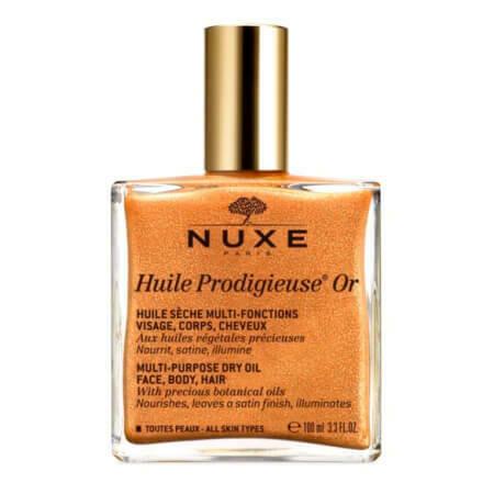 Золотое сухое масло для волос, лица и тела NUXE Huile Prodigieuse Or