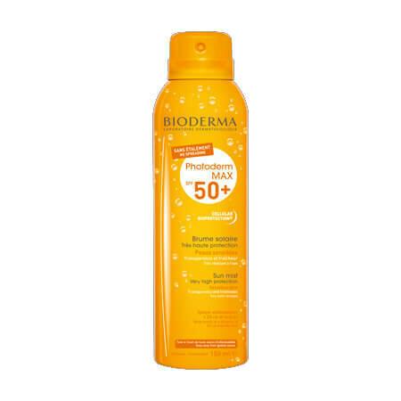 Солнцезащитный спрей-вуаль для лица и тела Bioderma Photoderm МАХ Brume solaire SPF50+