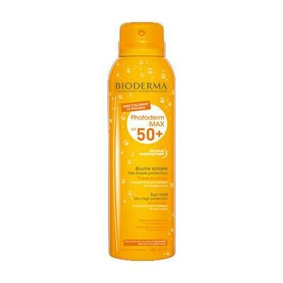 Солнцезащитный спрей-вуаль для лица и тела Bioderma Photoderm МАХ Brume solaire SPF50+