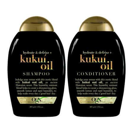 Набор для волос OGX Hydrate & Defrizz+ Kukui (Шампунь + Кондиционер)