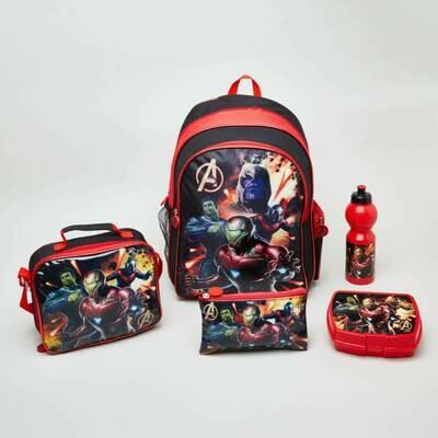Полный комплект Рюкзак на колесах +5 элементов Marvel Avengers