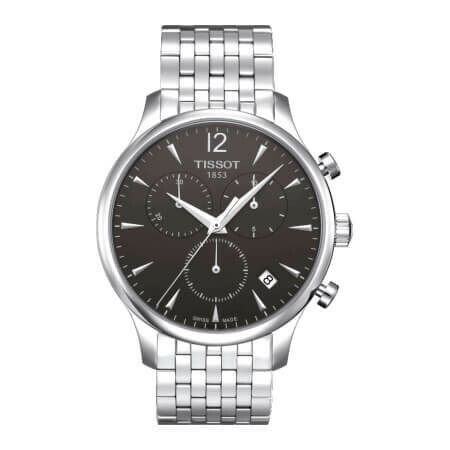 Tissot Tradition Mens with Stainless Steel Strap