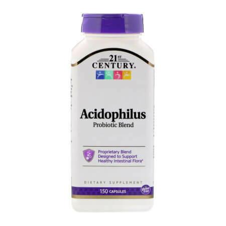 Пробиотики при проблемах желудочно кишечного тракта 21st Century 150 капсул