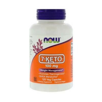 Эффективен для снижения веса Now Foods 7-keto 100mg