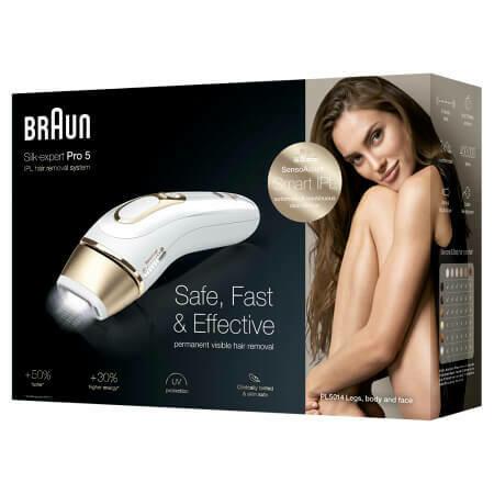 Фотоэпилятор Braun Silk-expert IPL Pro 5 PL5014