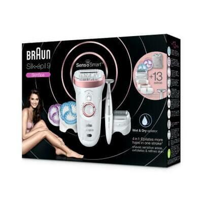 Эпилятор Silk-épil 9 SkinSpa SensoSmart™ 9/980 Wet & Dry
