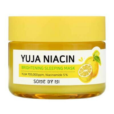 Ночная маска для лица Some By Mi Yuja Niacin 30 Days Miracle Brightening Sleeping Mask