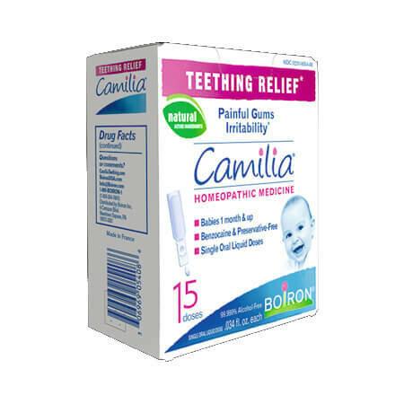 Boiron Camilia средство для снятия боли при прорезывании зубов 15 жидких доз