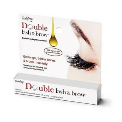 Масло-активатор роста бровей и ресниц Godefroy Double Lash And Brow Treatment Clear
