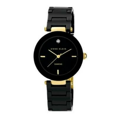 Anne Klein стильные женские часы с бриллиантом на отметке 12 часов