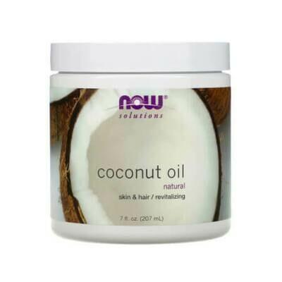 Натуральное кокосовое масло Now Foods, Coconut Oil, 100% Natural