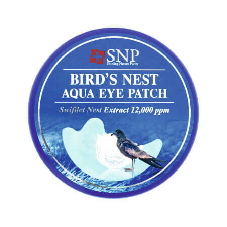 Антивозрастные гидрогелевые лифтинг-патчи SNP Birds Nest с экстрактом ласточкиного гнездa 60 патчей