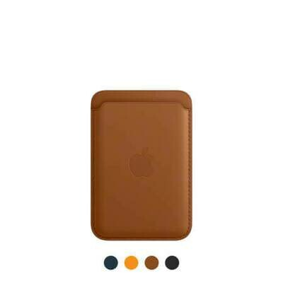 Кожаный чехол-бумажник MagSafe для iPhone