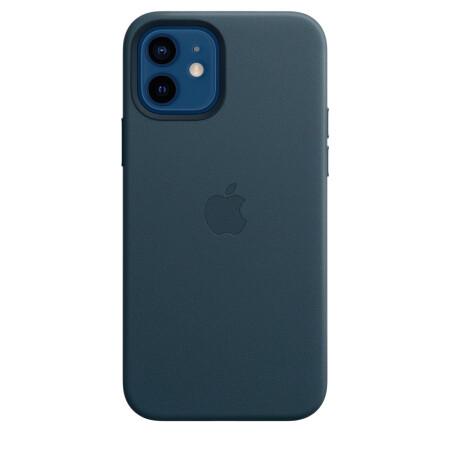 Кожаный чехол MagSafe для iPhone 12 и iPhone 12 Pro