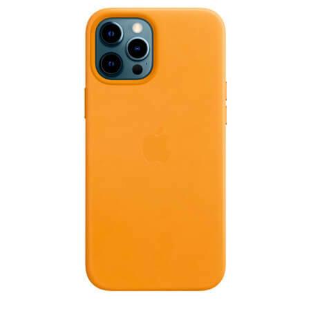 Кожаный чехол MagSafe для iPhone 12 Pro Max