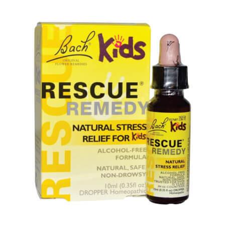 Растительное успокоительное для детей. Rescue Remedy Kids