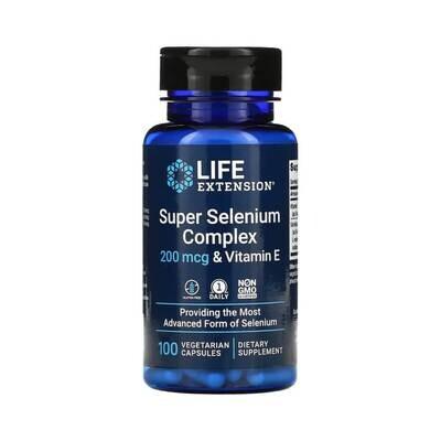 Суперкомплекс селена с витамином E, 200 мкг Life Extension