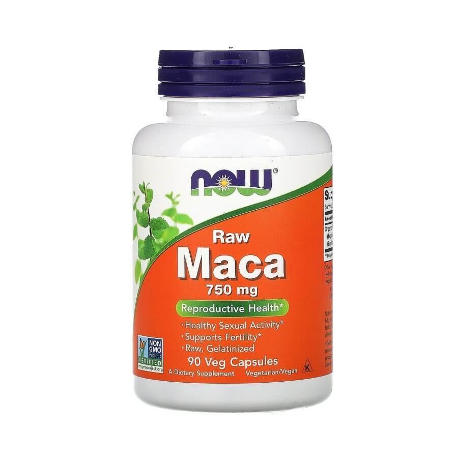 Перуанская Мака для мужчин и женщин Maca Raw Now Foods