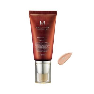 MISSHA BB-крем M Perfect Cover BB Cream SPF42 PA+++ №21 Светло-бежевый (50 мл)