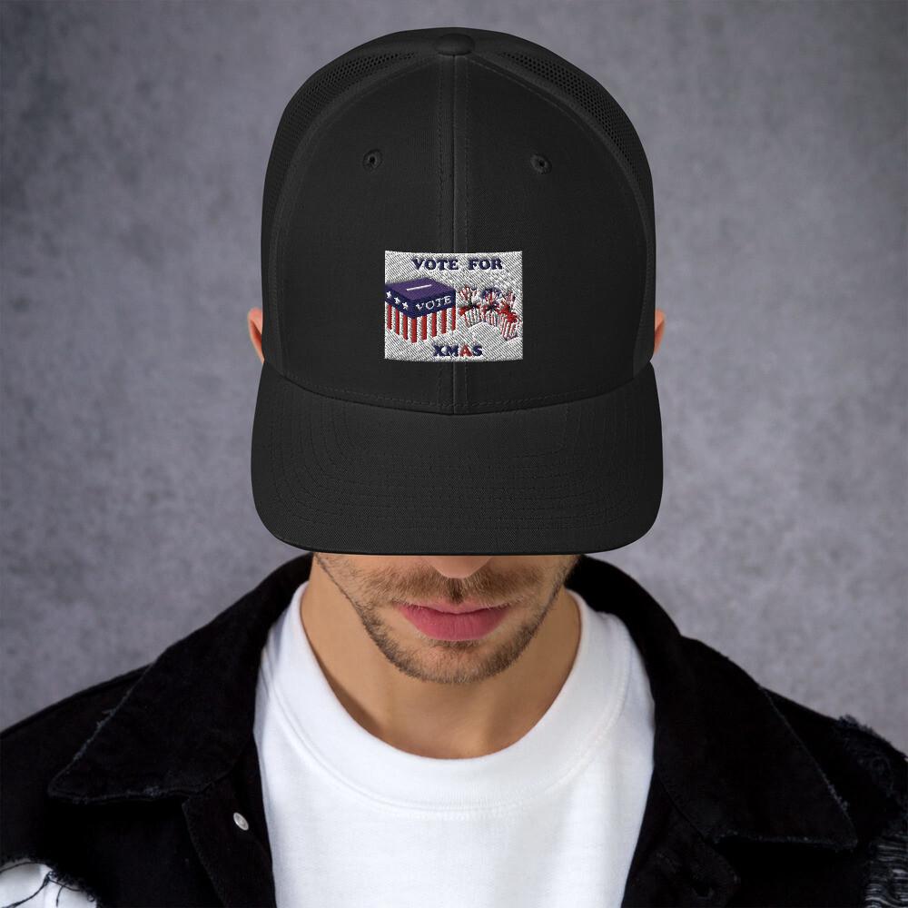 Vote for Xmas - Trucker Cap
