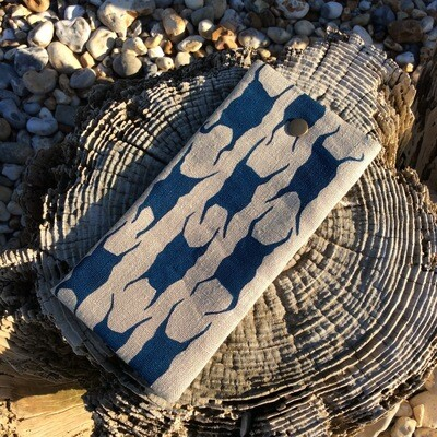 'Mermaids Purse' Glasses Case - Ink Blue