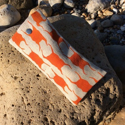 'Mermaids Purse' Glasses Case - Orange