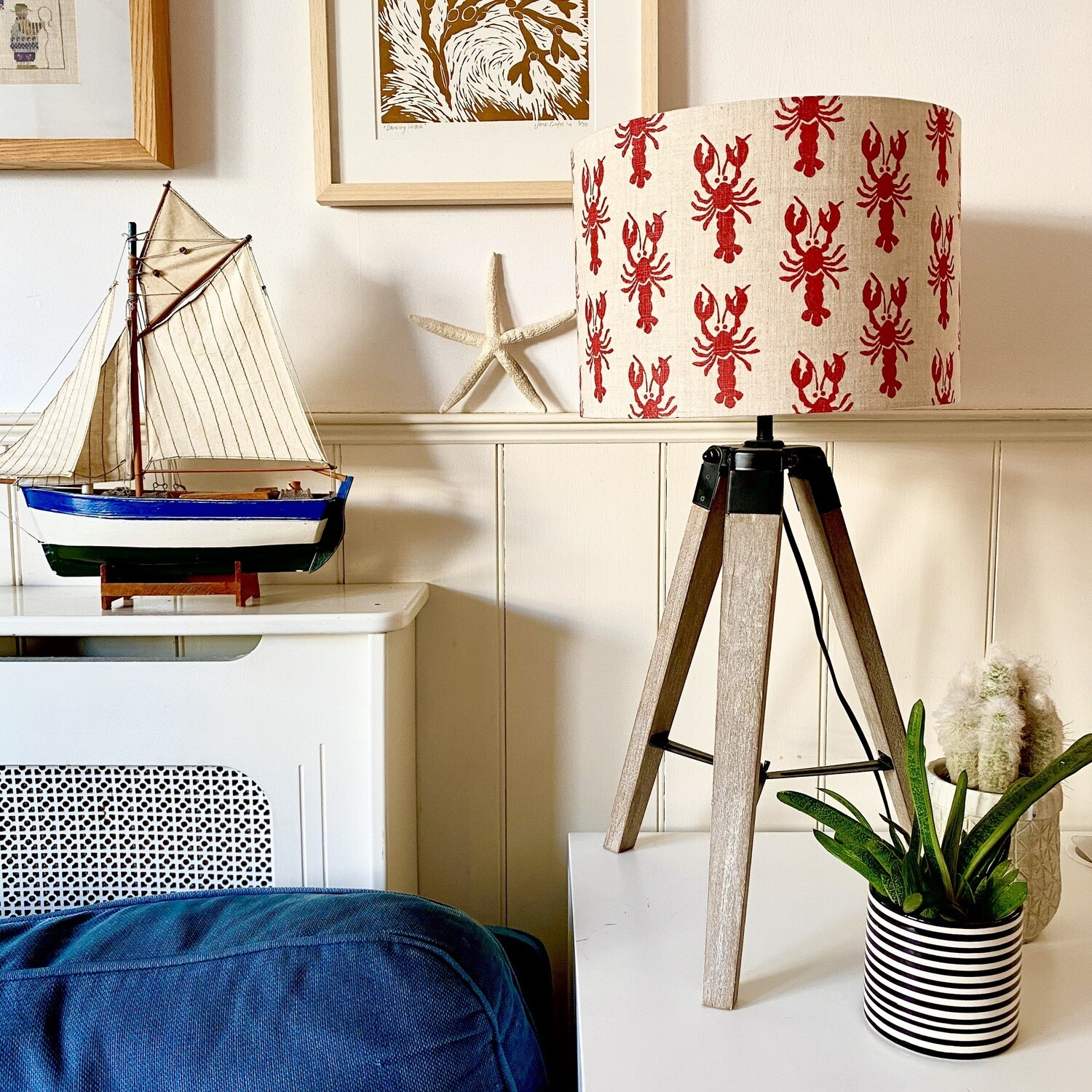 Lobsters Lampshade