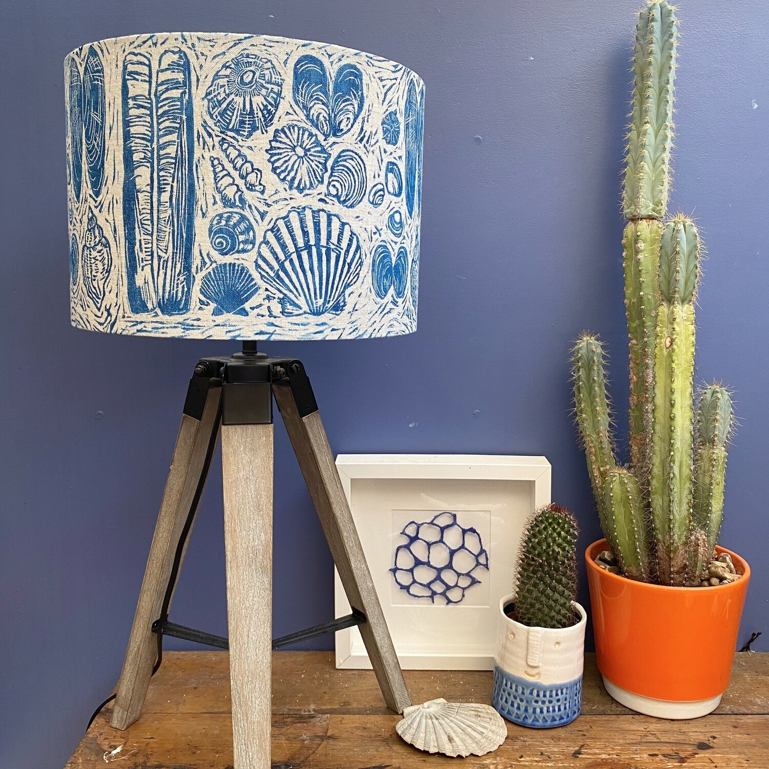 Shell Collection Lampshade