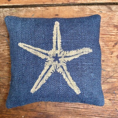 Blue Starfish Lavender Bag