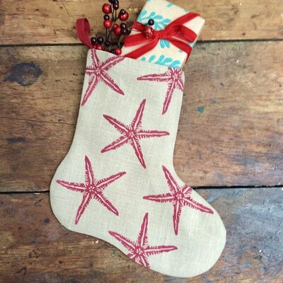 Starfish Bootee In Mulberry