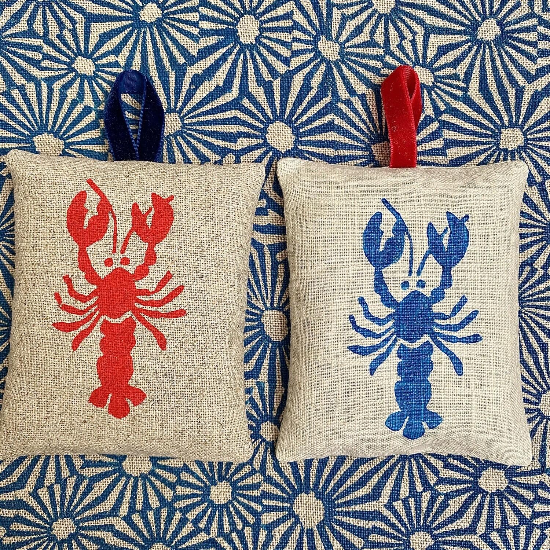 Lobster Lavender Bag