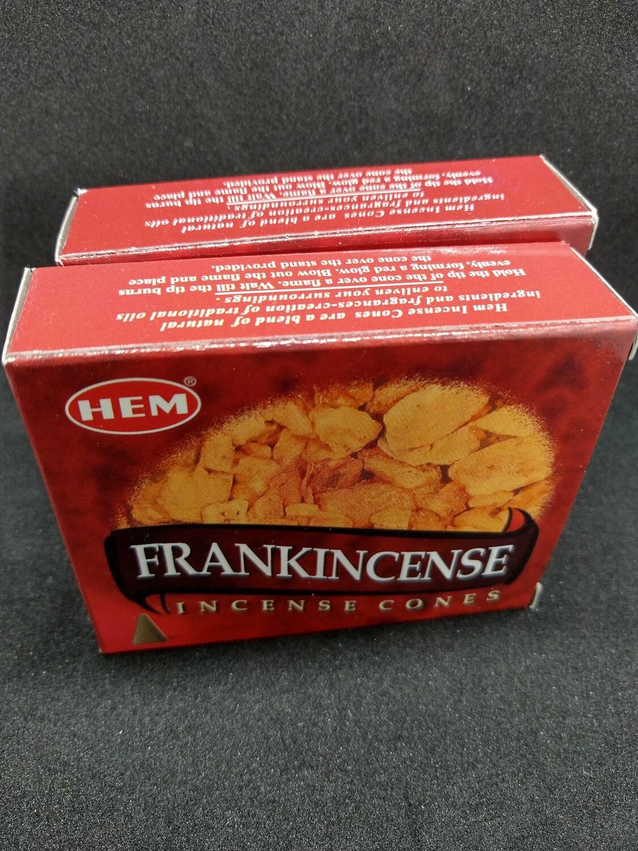 FRANKINSCENSE INCENSE CONES X2PK